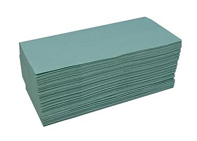 Katrin 100683 toallas de mano intercaladas en zig zag de calidad básica, 1 capa, verde (paquete de 5000): Amazon.es: Industria, empresas y ciencia