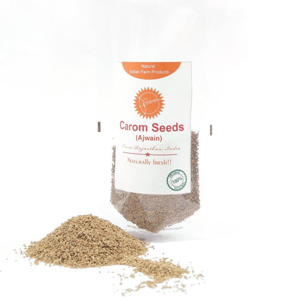Kovidara Organics Carom Seeds | Natural Indian Farm Products from Rajasthan | ONE Pack