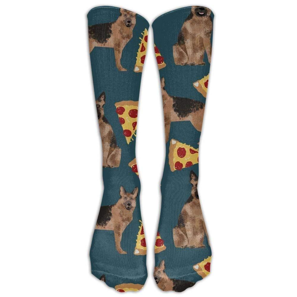 Sock German Shepherd Pizza Unisex Sport Over-The-Calf Long Tube Stockings One Size Lagle &