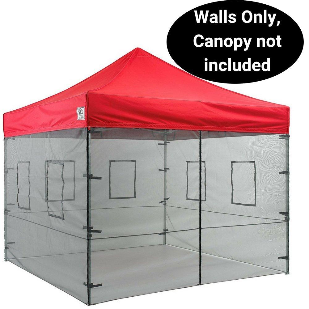 IMPACT Überdachungen 25,4 cm Vendor Lebensmittel Mesh Wände Seitenwand, Himmel Kit (Wände nur)