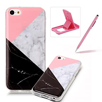 coque iphone 5 silicone marbre