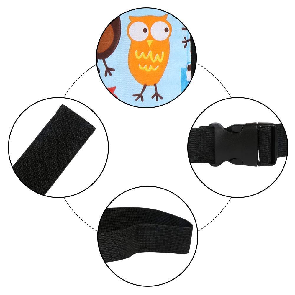 Patr/ón de b/úhoпјЊPaquete de 1 Uraqt Beb/és Soporte de la Cabeza para Cintur/ón de Seguridad de Coche