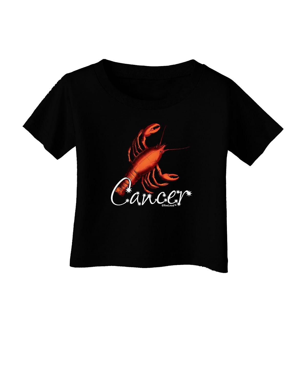 TooLoud Cancer Color Illustration Infant T-Shirt Dark