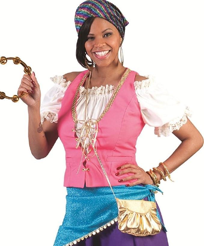 Traje gitano, tamaño 44/46, Carnaval reina gitana disfrazar ...