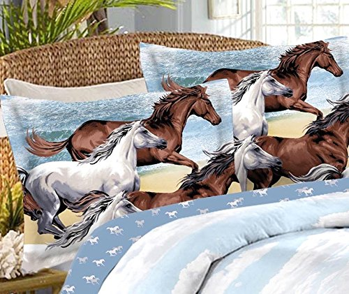 Horse bed sheets queen