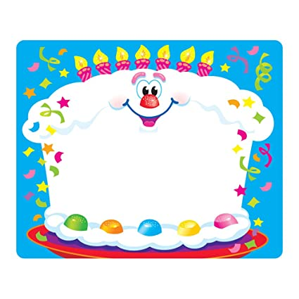 amazon com trend enterprises inc happy birthday terrific labels