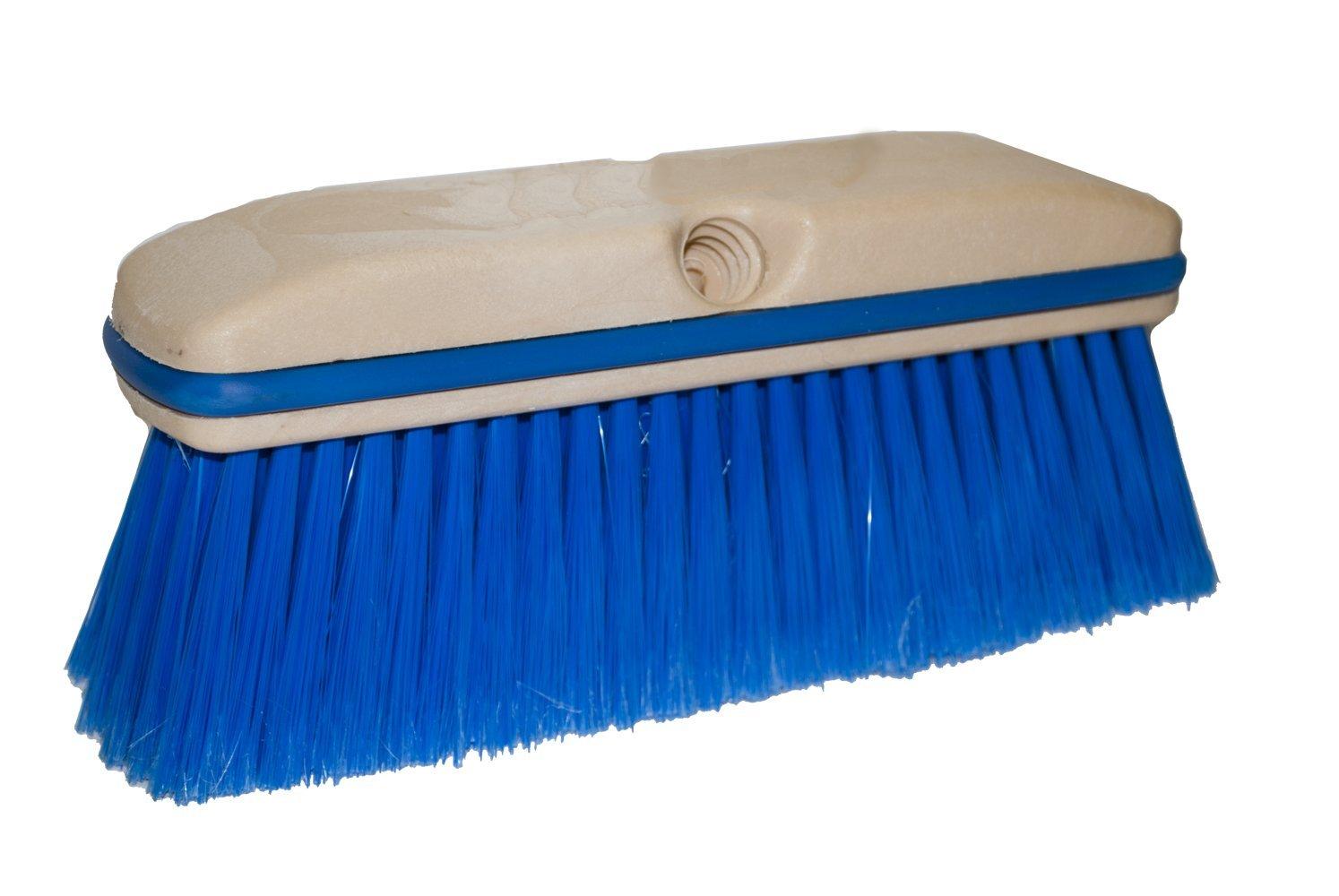 Magnolia Brush 3039 Vehicle Wash Brush, Flagged Polystyrene Bristles, 3'' Trim, 10'' Length, Blue (Case of 12)