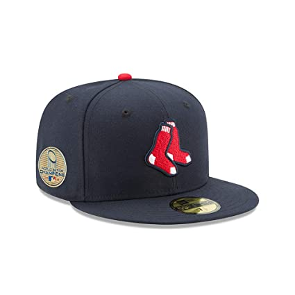 887e33aaac99a New Era Boston Red Sox 2018 World Series Champions Alt. Side Patch 59FIFTY  Fitted Hat