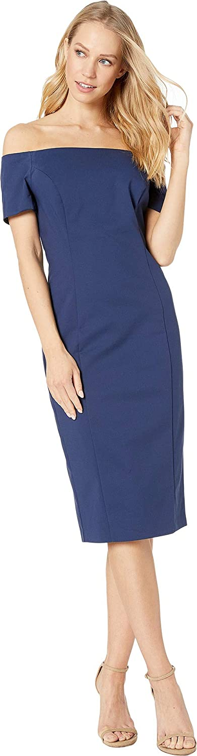 Patriot bluee Bardot Women's Short Sleeve Dress