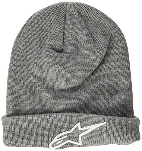 Alpinestars Men's Ageless Beanie, Gray, One (Alpinestars Skull Cap)