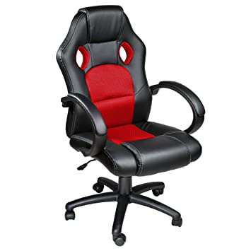 luxury office chair. tectake luxury office racing chair blackred luxury office chair