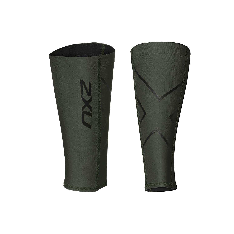 2XU Compression Calf Guards Mountain View/Nero XL by 2XU