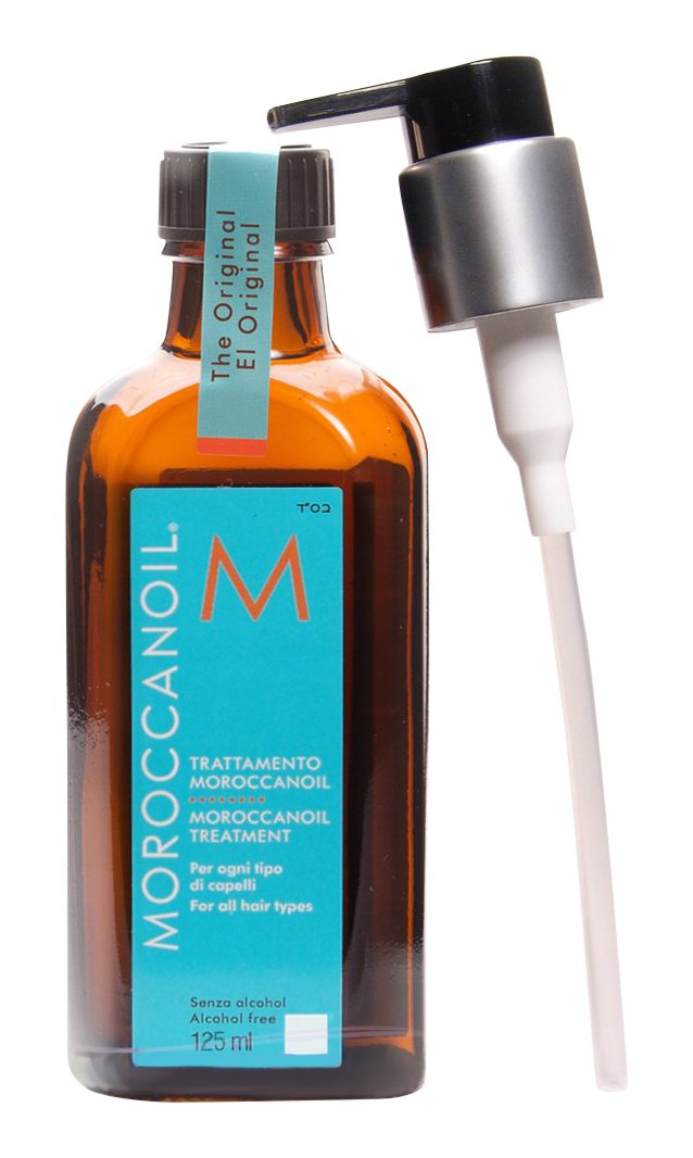 Moroccanoil Hair Treatment Bottle with Pump Bonus, 4.23 oz./125 mL by MOROCCANOIL