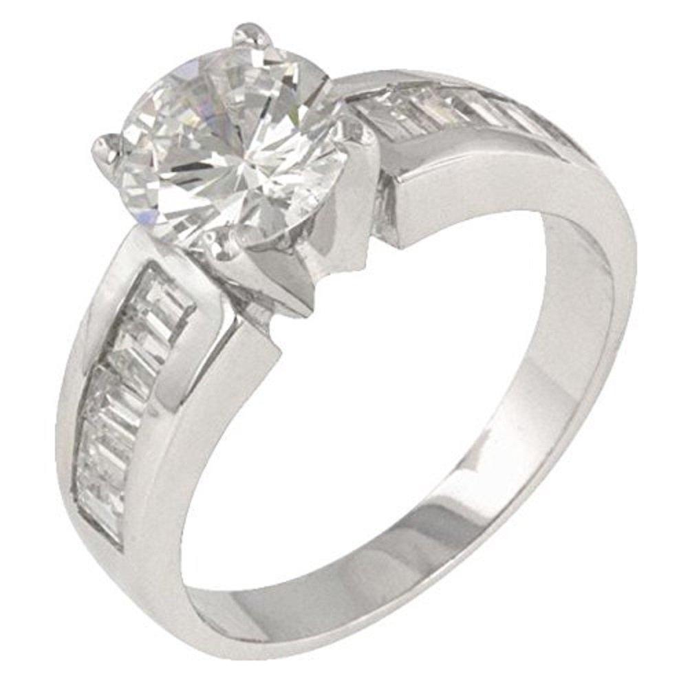 WildKlass Antoinette Silver Engagement Ring NA