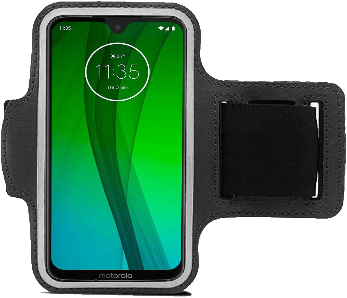 G8 Power Lite Adjustable Phone Arm Case for Moto E E6s 2020 Running Armband for Motorola//One Fusion Plus G Power Sports Mobile Phone Bag for Outdoor Exersise Biking with Key Holder