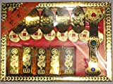Chinese Gold Jewelry Joss Paper Box Set with Heaven Passport