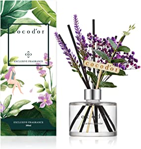 Cocod'or Lavender Reed Diffuser/Garden Lavender / 6.7oz(200ml) / 1 Pack/Home Decor & Office Decor, Fragrance and Gifts