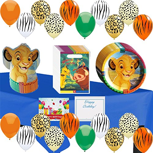 Disney The Lion King Deluxe Party Pack - The Lion King Supplies Party