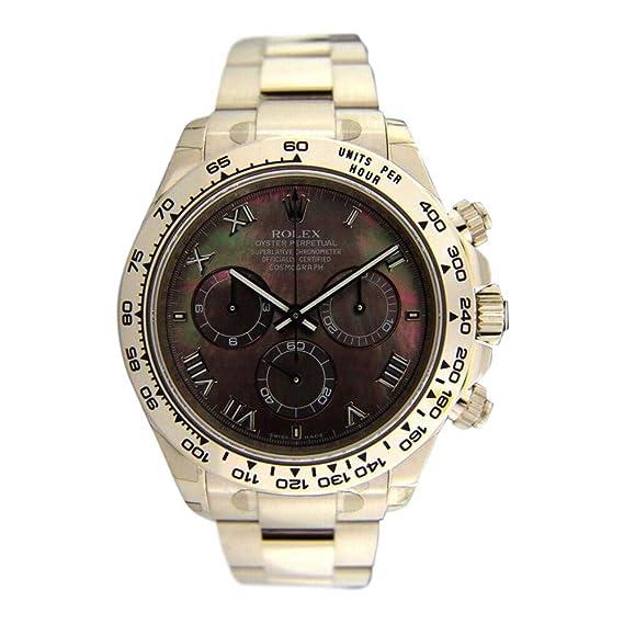 Rolex Daytona Automatic-Self-Wind 116509 - Reloj para Hombre (Certificado prepropietario)