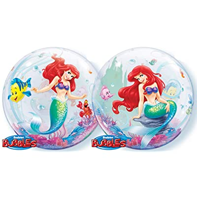 Ballooney's~Disney's Ariel the Little Mermaid Bubble Balloon: Kitchen & Dining