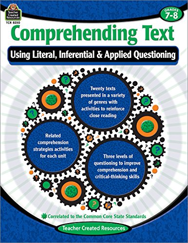Comprehending Text Using Literal/Inferential/Applied Quest-7