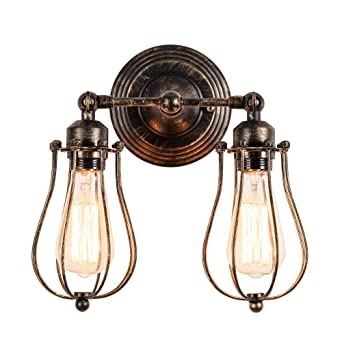 Wandlampe Retro Verstellbar Metall Antik Wandleuchte Vintage Lampen Landhausstil Fr Landhaus Schlafzimmer Wohnzimmer Esstisch