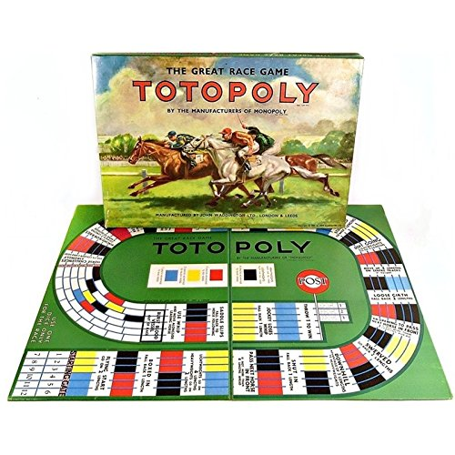 SELECTION OF REPLACEMENT SPARES FOR VINTAGE 1960s TOTOPOLY BOARD GAME