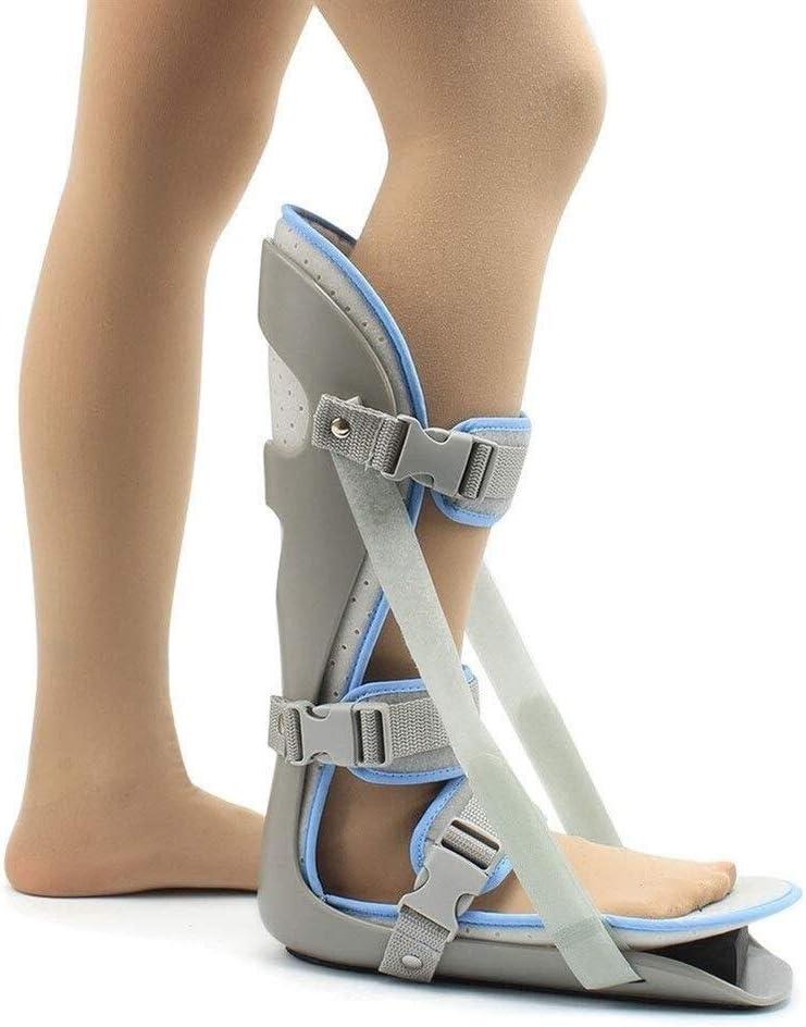 Férula for pies, corrección postural del pie. Miembro inferior adecuado. Corrección fija. Protector. Órtesis ajustable for pie y tobillo. Esguince y rehabilitación de lesiones de espalda después de la