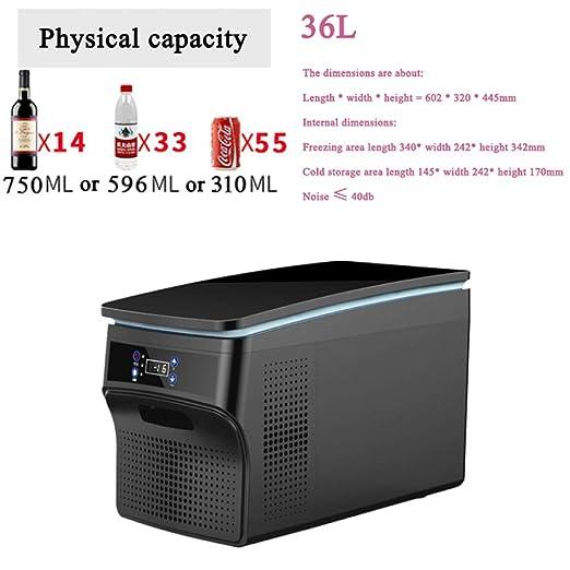 YIWANGO Portátil Refrigerador 26L para Camping Viaje Picnic Nevera ...