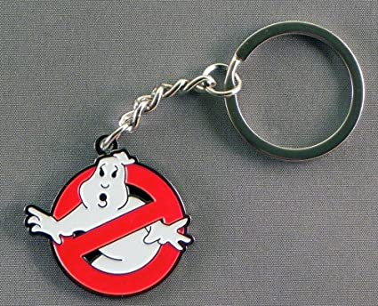 Porte-cl/és en m/étal insigne Ghostbusters