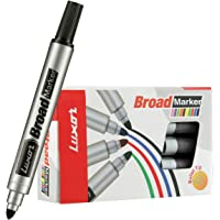 Luxor 971 Broad Marker - Black - Box of 10