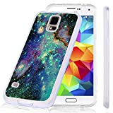 S5 Case Samsung Galaxy S5 Case Viwell Soft Case Rubber Silicone Color Starry Sky