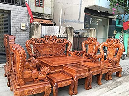 furniture made of wood. Rare Classic Asian Dragon Engraves Furniture Chair \u0026 Desk Set Solid Wood Home Decor Made Of