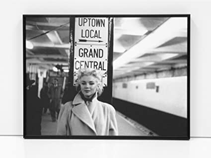MARILYN MONROE 1955 NYC CUADRO ENMARCADO TAMAÑO 30X40CM - (V3259 ...