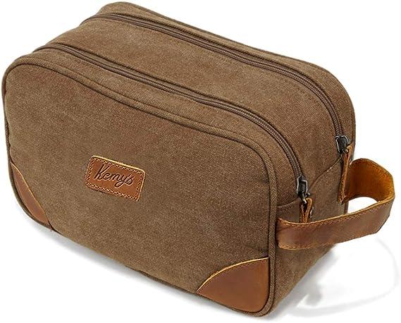 Kemy's Men's Shaving Travel Dopp Kit Bag