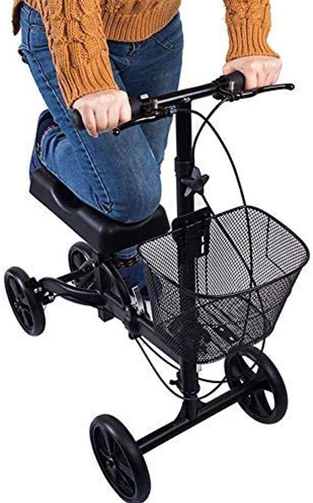 折り畳み式の膝歩行器の高さ調節可能な操縦可能な膝スクーターは、足、足、足首、膝関節、アキレスの歩行補助具を無効にしました