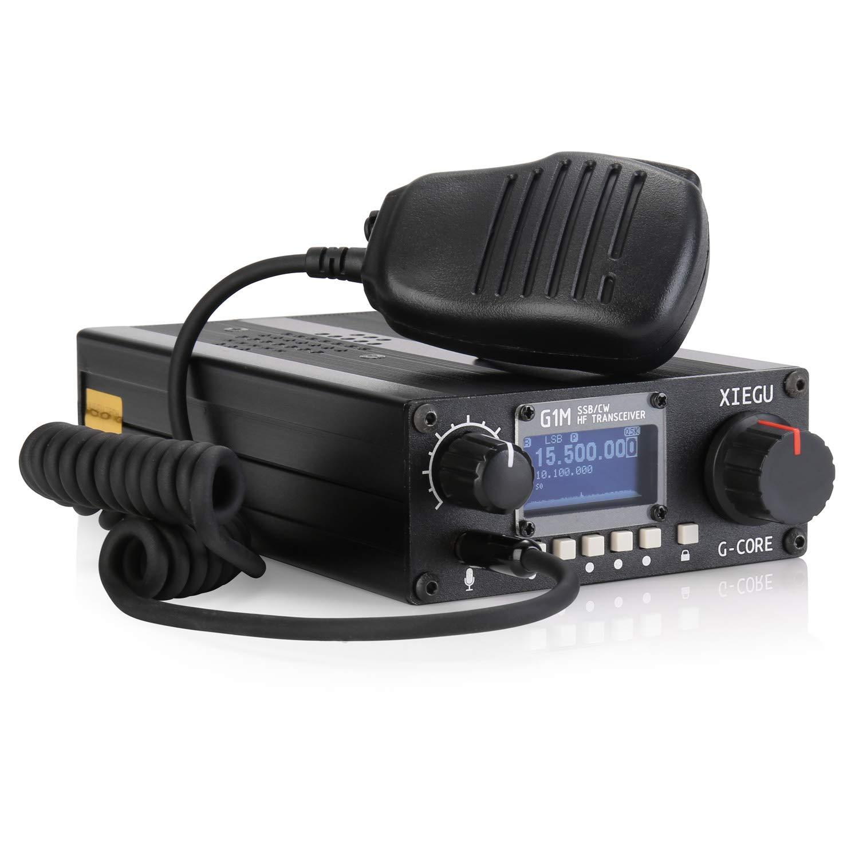 Xiegu G1M G-Core Portable SDR HF Transceiver QRP Quad Band Short-Wave 5W SSB CW AM 0.5-30MHz Mobile Radio Amateur Ham by Xiegu