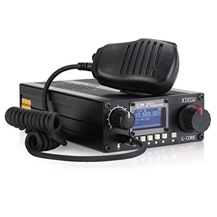 Amazon com: Xiegu G1M G-Core Portable SDR HF Transceiver QRP Quad