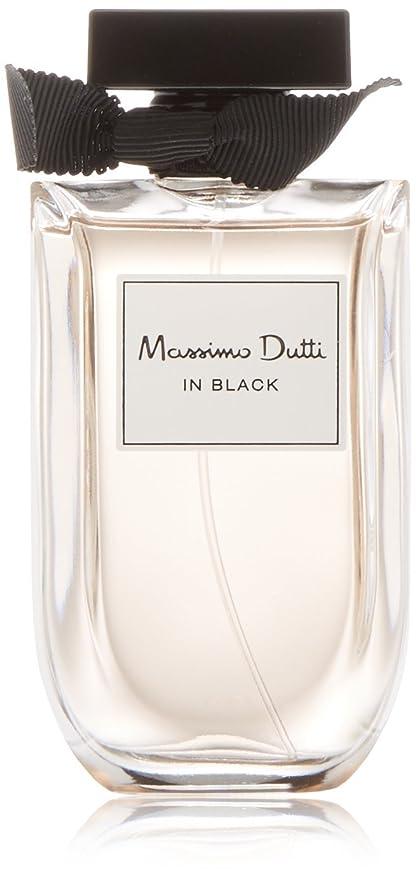 Massimo Dutti In Black, Colonia mujer - 80 ml