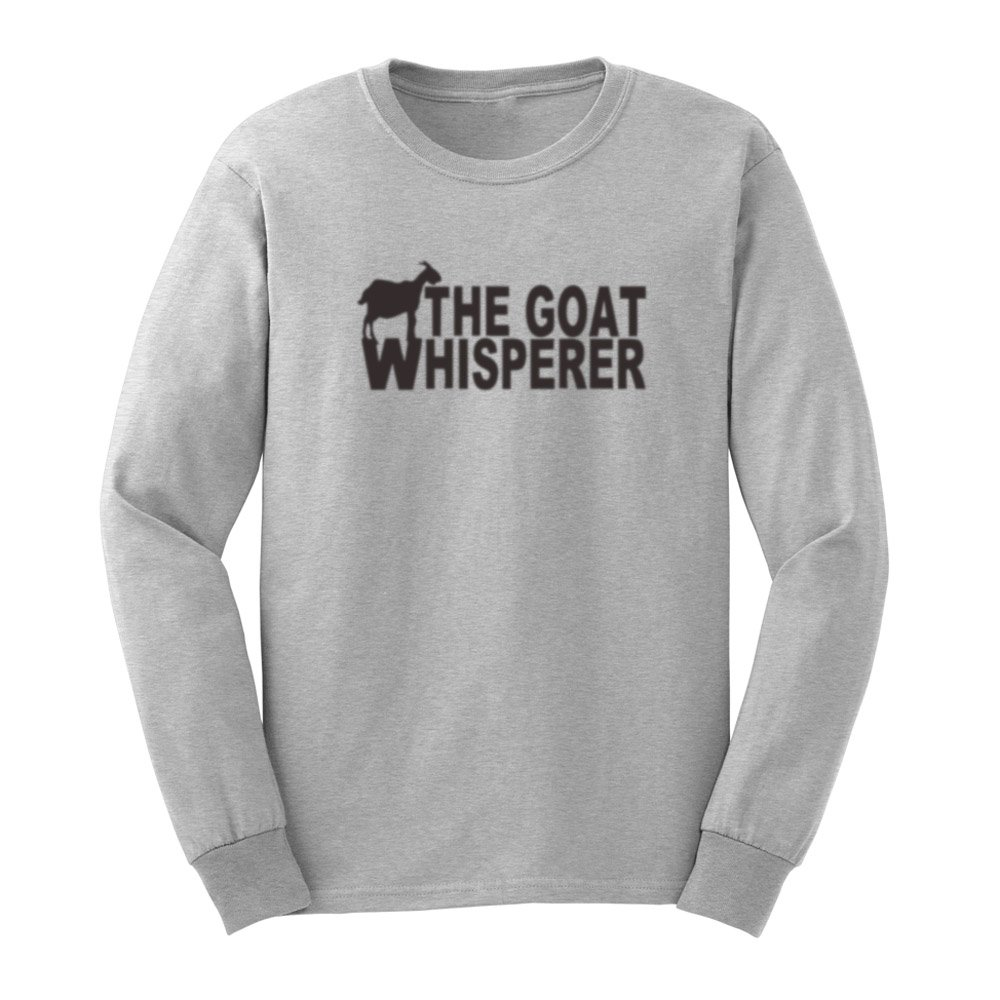 S The Goat Whisperer Funny T Shirts Casual Tee