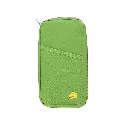 63f22fe80300 AStorePlus Convenient Travel Wallet, RFID Blocking, Passport Holder, Water  Resistant Passport Pouch, Holiday Document Organizer Case, Aircraft Ticket  ...