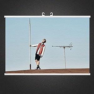 Nemoyard Fans BTS Kpop Bangtan Boys Wings You Never Walk Alone Fabric Poster Wall Scroll Hanging Paintings (Jhope 004)