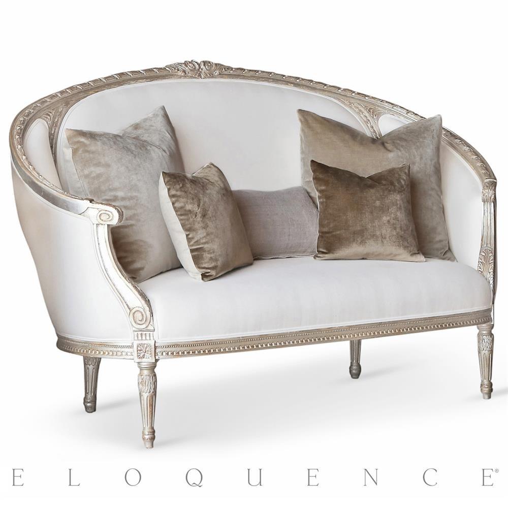 Amazon com modern antique handmade upholstered sofa kitchen dining