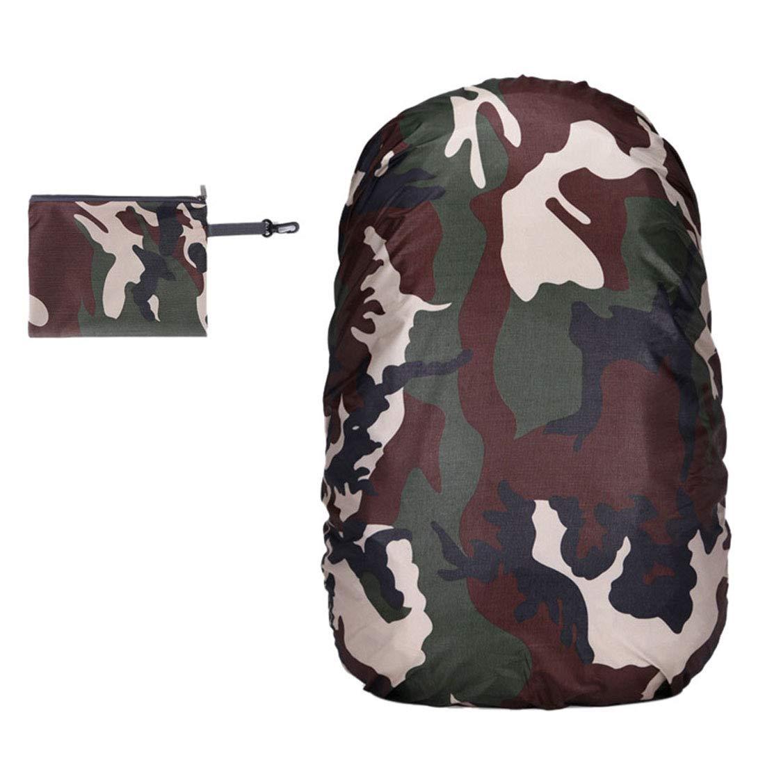 FREAHAP R 防水バックパック レインカバー 収納バッグ 軽量 ハイキングデイパックカバー 70L #12 B07GGQ6T2Q