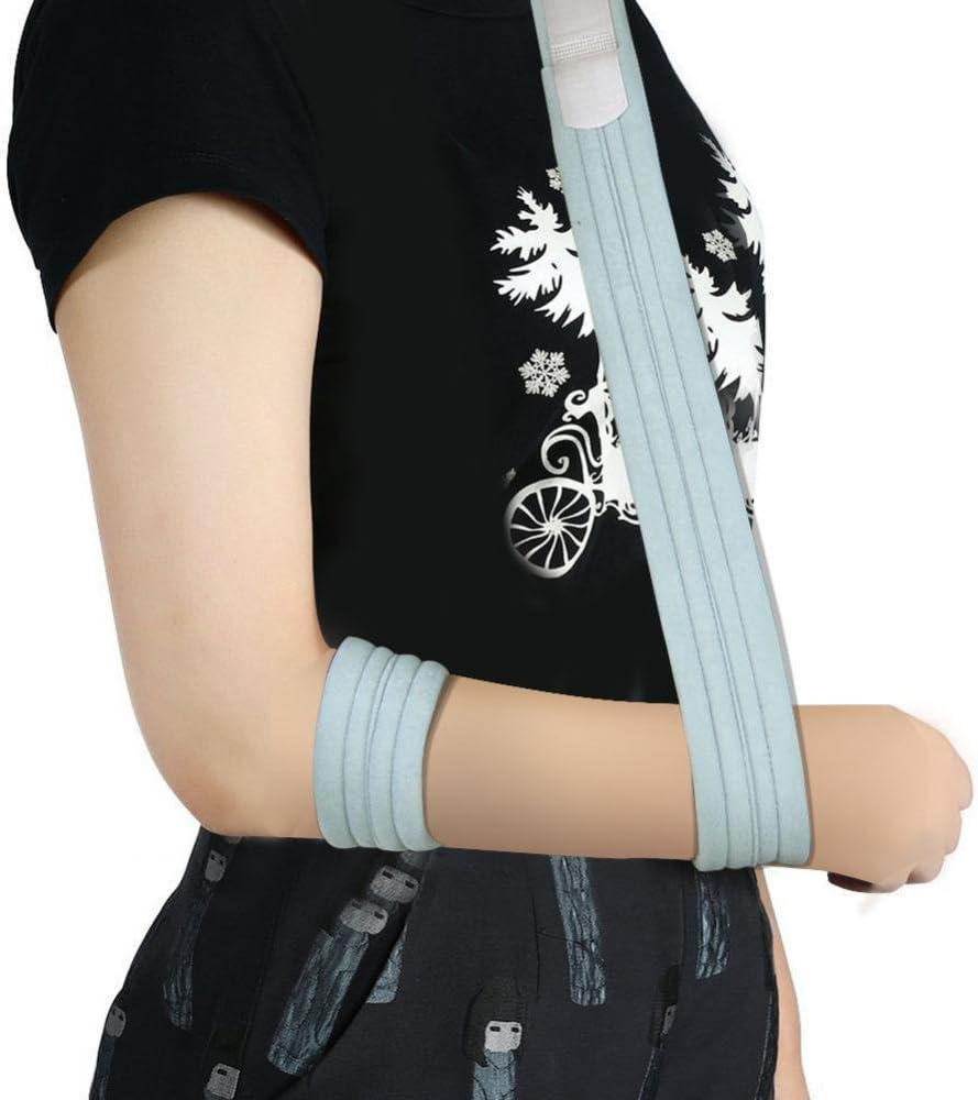 Cabestrillo de Brazo Antebrazo Inmovilizador de Hombro Ajustable Correa de Soporte de Fractura ortopédica Esguince Codo de Muñeca