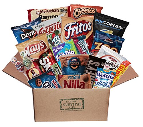 Hold the Peanuts Campus Survival Kit Care Package (large)