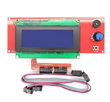 Impresora 3d Reprap controlador Smart RepRap Rampas 1.4 2004 LCD ...