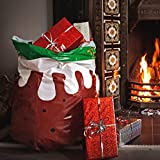 SUCK UK Christmas Pudding Bin Bags