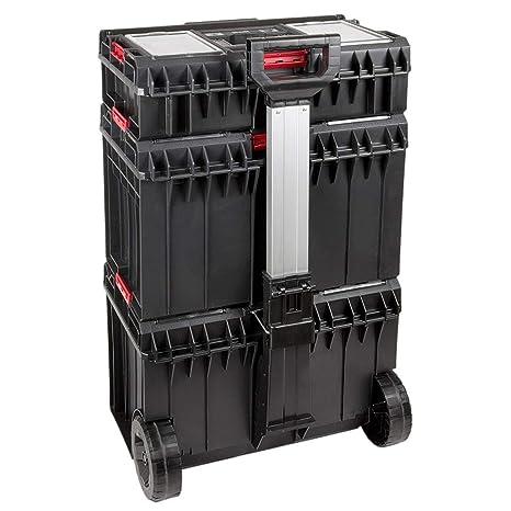 Carro de herramientas Roll maletín 120 kg de carga caja para herramientas 126,5 L