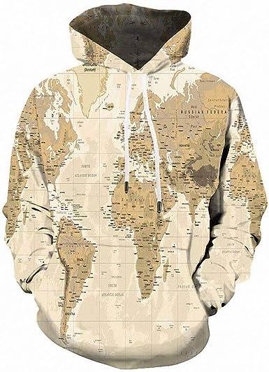 Emlyn Adrian 3D Skull Men and Women Hip Hop Tracksuit Hooded Sweatshirt Jacket Pullover